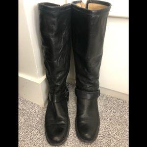 Frye tall black boot